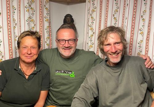 Armin und Uschi Deutz und Gunther Greßmann